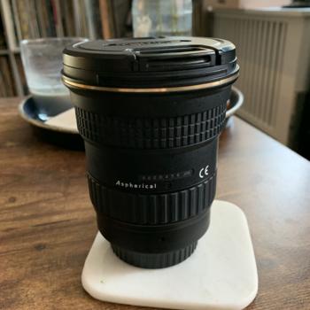 Rent Tokina 17-35mm/F4 Lens with Lens Cap, Rear Cap + Lens Hood