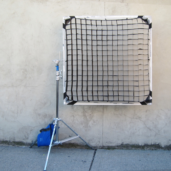 Rent 4x4 Soft Fabric Egg Crate 40 or 50 Degree KIT with stands, frame and sandbag