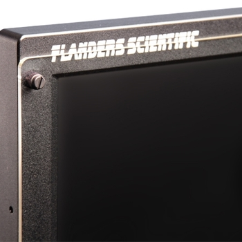 """Rent Flanders Scientific 24"""" Monitor w/ Scopes and Mounting Bracket (for C-stand) — BM240"""