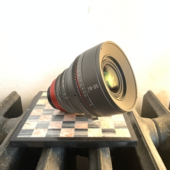Rent Fully Cinevised Sigma 18-35mm T2, **EF OR PL MOUNT** (Rehoused by Cinematics)