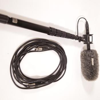 "Rent MKE 600 SHOTGUN MICROPHONE  & K-TEK 9'2"" Boom Pole"