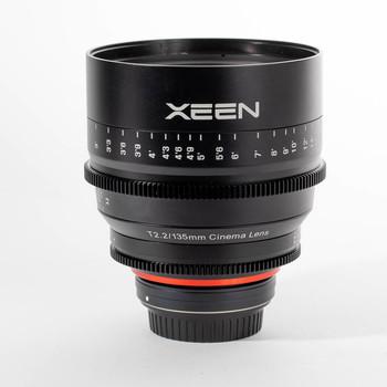 Rent Xeen 135mm T2.2 Cine Prime EF Mount