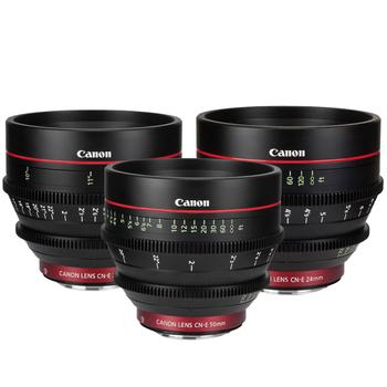 Rent Canon CN-E Primes (PICK 3)