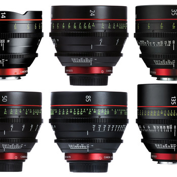 Rent Canon CN-E Cinema Prime (6) Lens Set