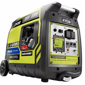 Rent Ryobi Bluetooth 2,300-Watt Super Quiet Inverter Generator