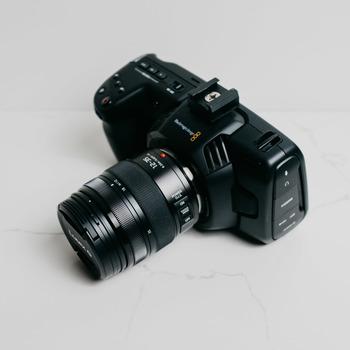 Rent Blackmagic Pocket Cinema 4k w/ Lumix 12-35 f/2.8 Lens
