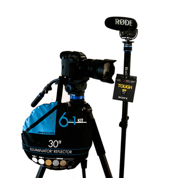 Rent Basic production package w/ Lumix S1h Camera, EVERYTHING YOU'LL NEED
