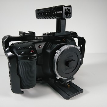 Rent Blackmagick Pocket 4K - With some gears