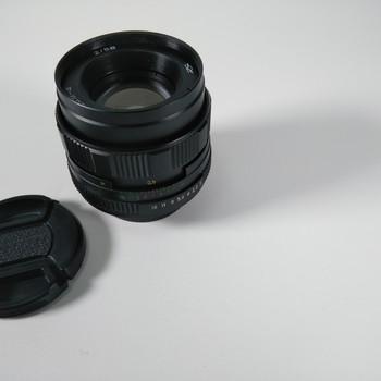 Rent MC Helios 44M-4 58mm F2 Russian Lens M42 mount + EF Adapter