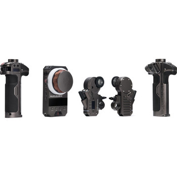 Rent Tilta Nucleus M follow focus kit. Two motors- handles and fiz unit