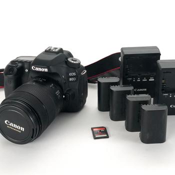Rent Canon EOS 80D w/ 18-135mm Lens