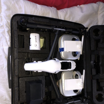 Rent DJI Inspire 1 w/  Upgraded Vibration Bord & Prop Mounts
