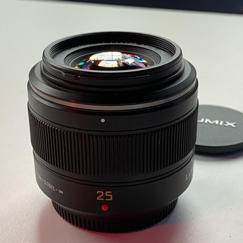 Rent Panasonic Leica 25mm f/1.4 ASPH. Lens for Micro Four Thirds