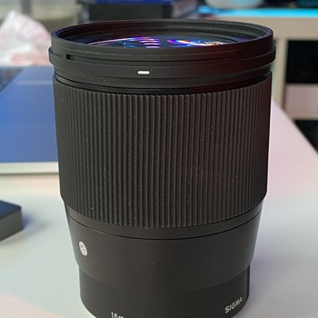 Rent Sigma 16mm f1.4 Lens for Sony E-mount