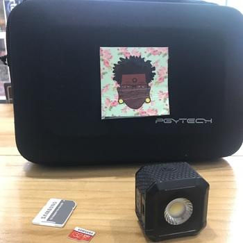 Rent DJI Osmo Pocket w/ accessories including polar pro grip