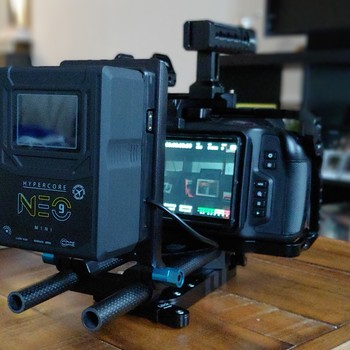 Rent Blackmagic 6K with Canon 24-70 stabilized lens