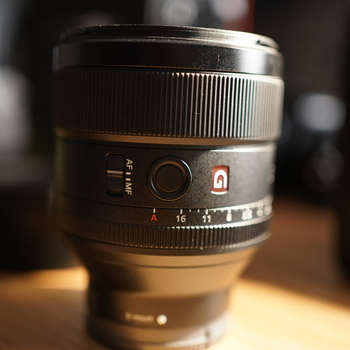 Rent Sony 85mm f/1.4 G Master - With carrying case!