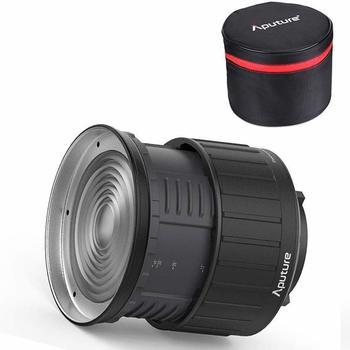 Rent Aputure Fresnel 2X flood/spot adjustable lens - Bowen Mount