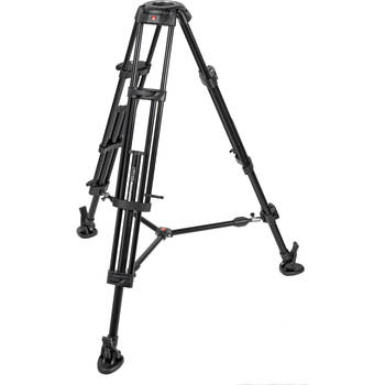 Rent Manfrotto 546B Video Tripod w/ 75mm bowl adapter included