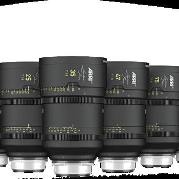 Rent ARRI Signature primes 6 lens set
