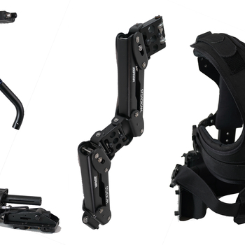 "Rent Steadicam Zephyr Camera Stabilizer with 7"" HD Monitor + Gold Mount"