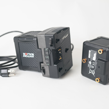 Rent 2x Anton Bauer Cine 150 Gold-Mount Kit w Twin Charger