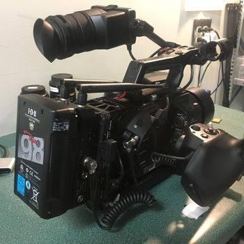 Rent Sony Fs7 w/ Metabones EF Canon diopter mount and Tilta baseplate and V-Mount