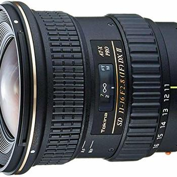 Rent Tokina AT-X 116 PRO DX-II 11-16mm f/2.8 Lens for Canon EF Mount