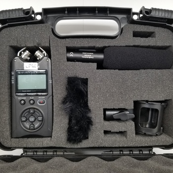 Rent Sound kit with Tascam DR-40 and Audio-Technica AT875R Shotgun Mic