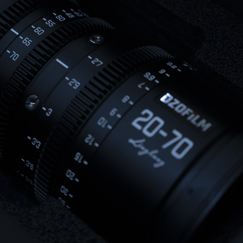 Rent Dzofilm 20-70 T2.9 Pairs perfectly with the Blackckmagic pocket 4k