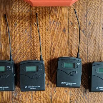 Rent TWO Sennheiser G3 wireless lavalier kits (A-band)
