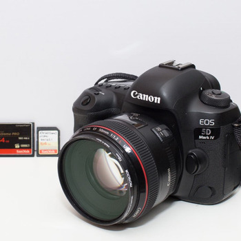Rent Canon 5D Mark IV +  Extras