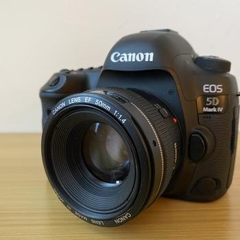 Rent Canon EF amount 50mm 1.4