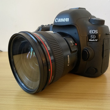Rent Canon EF 24mm 1.4 with variable ND Filter