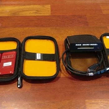 Rent RED MEDIA RENTAL KIT - 2x RED MINI MAG (480GB) + READER