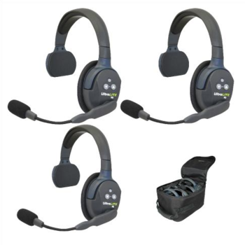 Rent Eartec UltraLITE 3-Person Hands-Free Headset System
