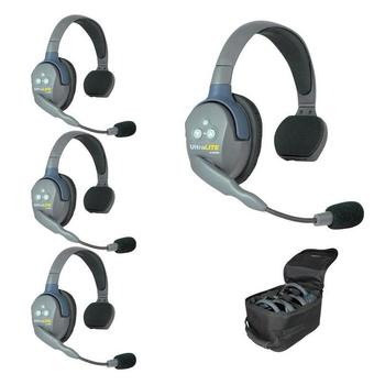 Rent Eartec UltraLITE 4-Person Hands-Free Headset System
