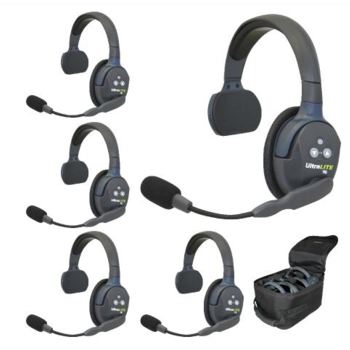 Rent Eartec UltraLITE 5-Person Hands-Free Headset System