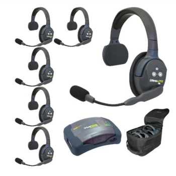 Rent Eartec UltraLITE 6-Person Hands-Free Headset System