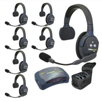 Rent Eartec UltraLITE 7-Person Hands-Free Headset System