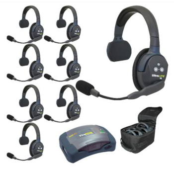 Rent Eartec UltraLITE 8-Person Hands-Free Headset System