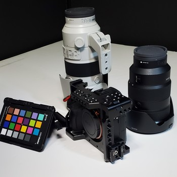 Rent Sony A7III with (2) G-Master Lenses