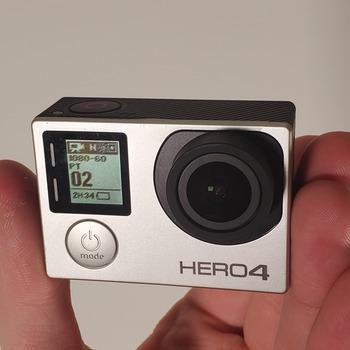 Rent Go Pro Hero 4 Silver