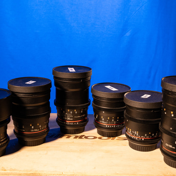 Rent Rokinon Cine EF Lens - Kit of 6