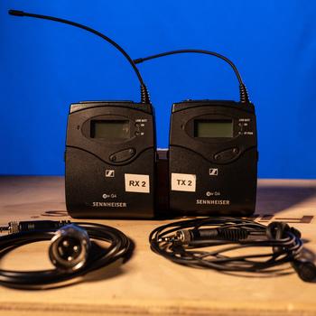 Rent (2 of 2) Sennheiser G4 Wireless Lav Mic