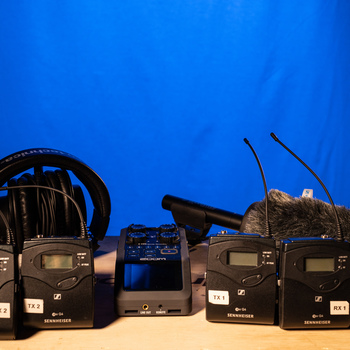 Rent Audio Kit (Sennheiser G4 lavs, mke600 shotgun, Zoom H6)