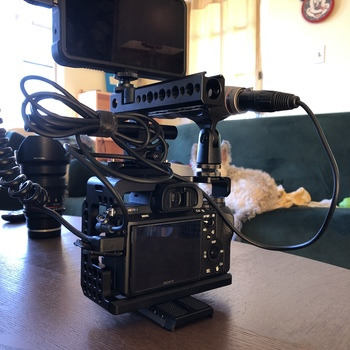 Rent Sony A7SII W/ Atomos Monitor, Cage, & Mic