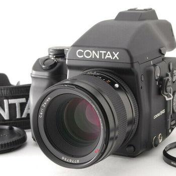 Rent Contax 645 Medium Format Camera Camera Kit