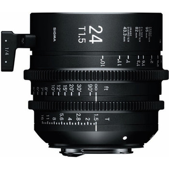 Rent Sigma 24mm T1.5 FF High-Speed Prime