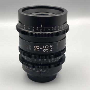 Rent Sigma Zoom 18-35mm CINE T2 Lens for EF, PL or Sony E-Mount.